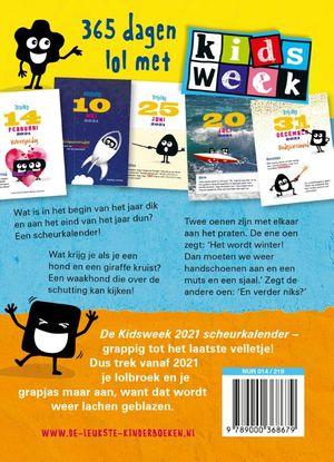 Kidsweek moppenscheurkalender 2021
