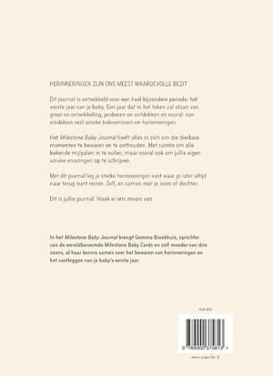 Milestone Baby Journal