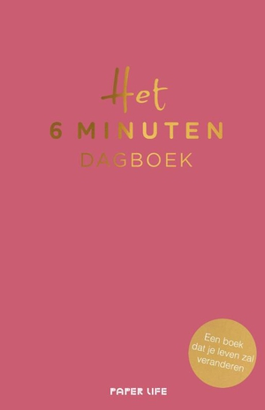 Het 6 minuten dagboek - roze editie