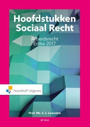 Hoofdstukken sociaal recht 2017