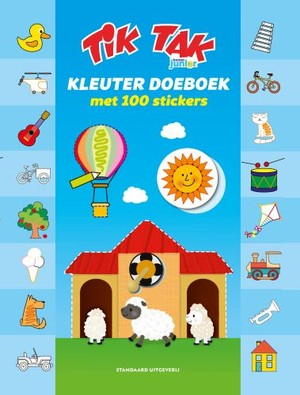 Tik Tak Kleuterboek met 100 stickers