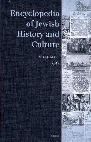 Encyclopedia of Jewish History and Culture volume 3