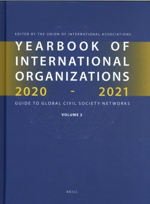 Yearbook of International Organizations 2020-2021