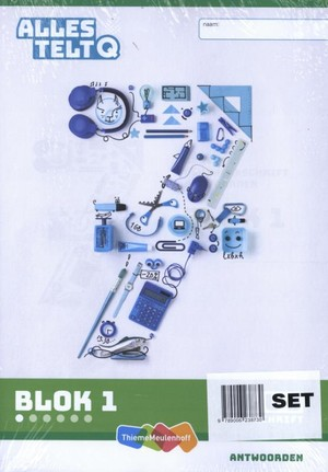Alles telt Q Antwoordschrift Plus blok 1 t/m 6 groep 7