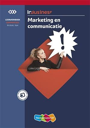 InBusiness Commercieel Marketing en communicatie Leerwerkboek+voucher
