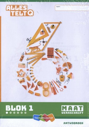 Alles telt Q Antwoordschrift Maat blok 1 t/m 6 groep 6