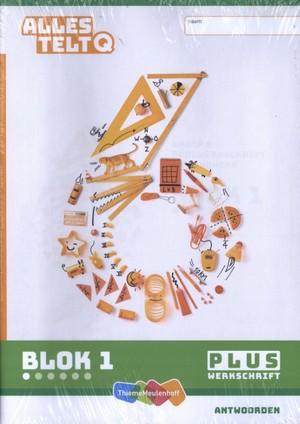 Alles telt Q Antwoordschrift Plus blok 1 t/m 6 groep 6