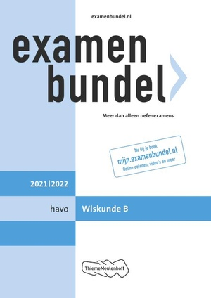 Examenbundel havo Wiskunde B 2021/2022