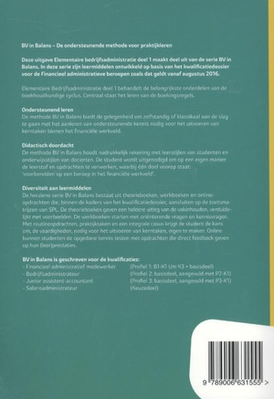Basisboek elementaire bedrijfsadministratie deel 1