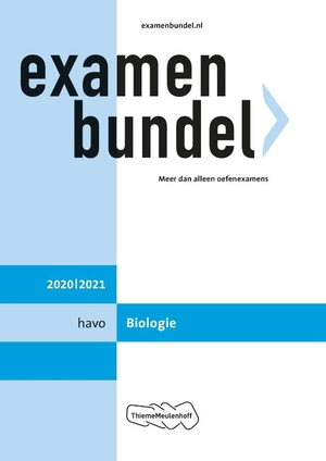Examenbundel havo Biologie 2020/2021
