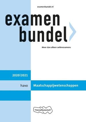 Examenbundel havo Maatschappijwetenschappen 2020/2021