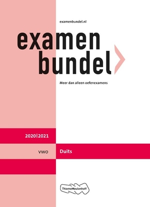 Examenbundel vwo Duits 2020/2021