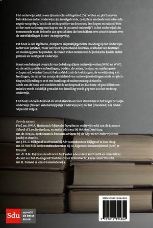 Basisboek onderwijsrecht