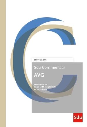 Sdu Commentaar AVG, Editie 2019