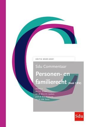 Sdu Commentaar Personen- en Familierecht (Boek 1 BW) 2020-2021
