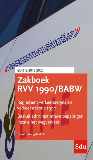 Zakboek RVV 1990/BABW. Editie 2020