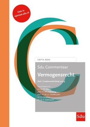 Sdu Commentaar Vermogensrecht 2020 (set van 2 delen)