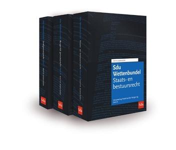 Sdu Wettenbundel 2020-2021 (set 3 ex)