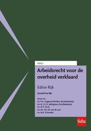 Arbeidsrecht voor de overheid verklaard, Editie Rijk. 2020/2