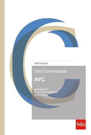 Sdu Commentaar AVG. Editie 2020