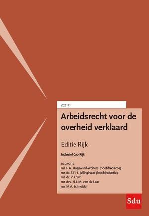 Arbeidsrecht voor de overheid verklaard, Editie Rijk. 2021/1
