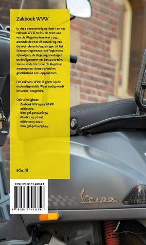 Zakboek WVW Wegenverkeerswet 1994 2021