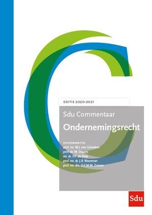 Ondernemingsrecht. Editie 2020-2021 2020-2021