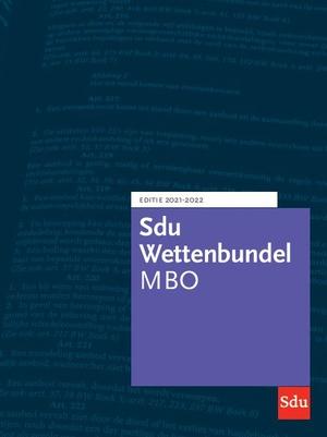 Sdu Wettenbundel MBO 2021-2022