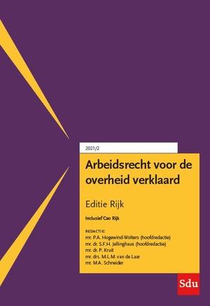 Arbeidsrecht voor de overheid verklaard, Editie Rijk. 2021/2