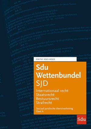 Sdu Wettenbundel Sociaal Juridische Dienstverlening 2021-2022 (set 2 delen)