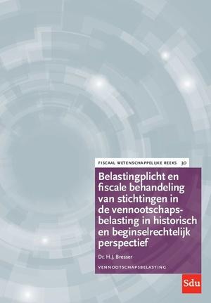 Belastingplicht en fiscale behandeling van stichtingen in de vennootschapsbelasting in historisch en beginselrechtelijk perspectief