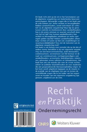 De algemene vergadering van Nederlandse beursvennootschappen