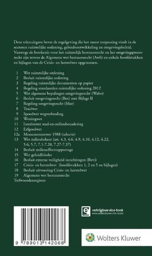 Tekstuitgave Ruimtelijk bestuursrecht 2017/1
