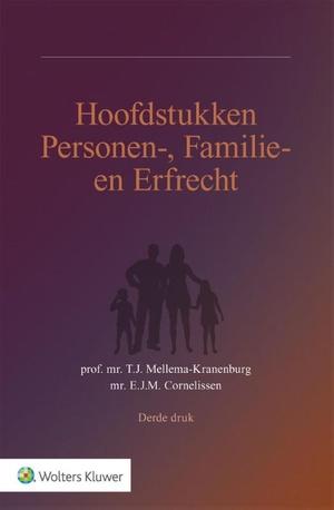 Hoofdstukken personen-, familie- en erfrecht