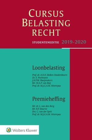 Loonbelasting/Premieheffing 2019-2020