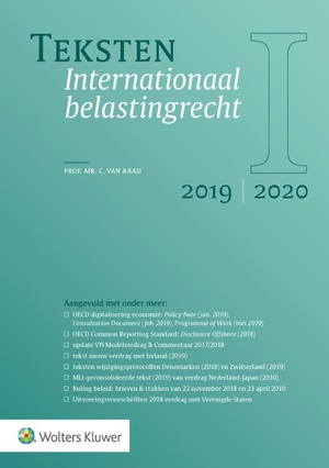 Teksten Internationaal belastingrecht 2019/2020