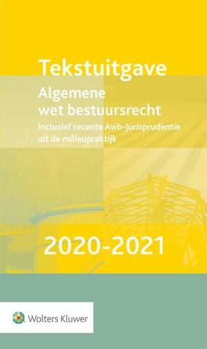 Tekstuitgave Algemene wet bestuursrecht 2020-2021