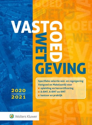 Vastgoedwetgeving 2020-2021