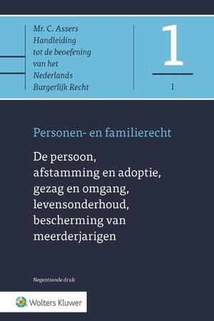 De persoon, afstamming en adoptie, gezag en omgang, levensonderhoud