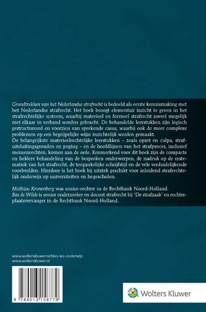 Grondtrekken van het Nederlandse strafrecht