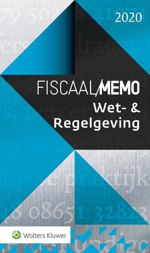 Wet- & Regelgeving 2020