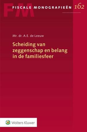 Scheiding van zeggenschap en belang in de familiesfeer
