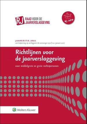Richtlijnen voor de jaarverslaggeving, middelgrote en grote rechtspersonen 2021