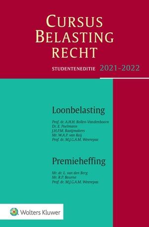 Cursus Belastingrecht Loonbelasting/Premieheffing 2021-2022
