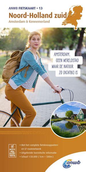 Noord-Holland zuid, Amsterdam & Kennemerland 1:50.000