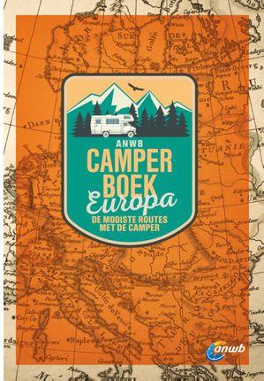 Camperboek Europa ANWB - de mooiste routes met de camper