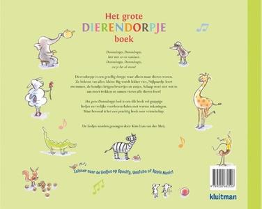 Het grote dierendorpje boek