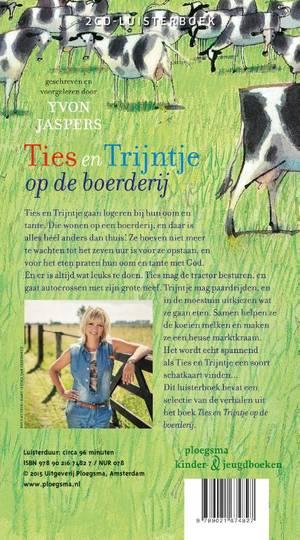 Ties en Trijntje op de boerderij
