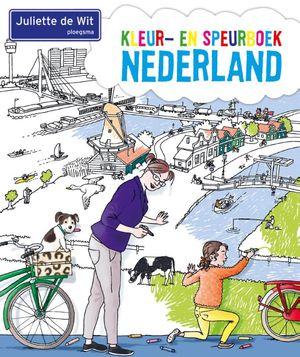 Kleur- en speurboek Nederland