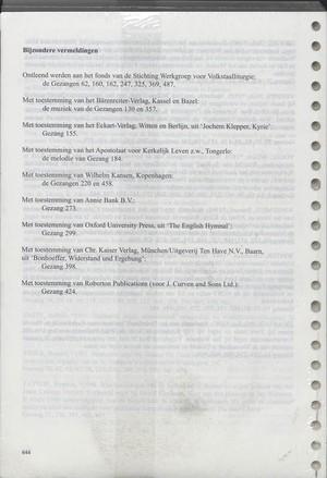 Nieuw Orgelboek bij de 491 Gezangen